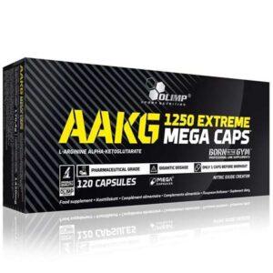 AAKG 1250 | Az Olimp AAKG 1250 Mega Caps nagy dózisban kombinálja ezt a két erős hatóanyagot, így az L-Arginin hihetetlenül komplex hatását az alfa-ketoglutarát extrém módon felerősíti!